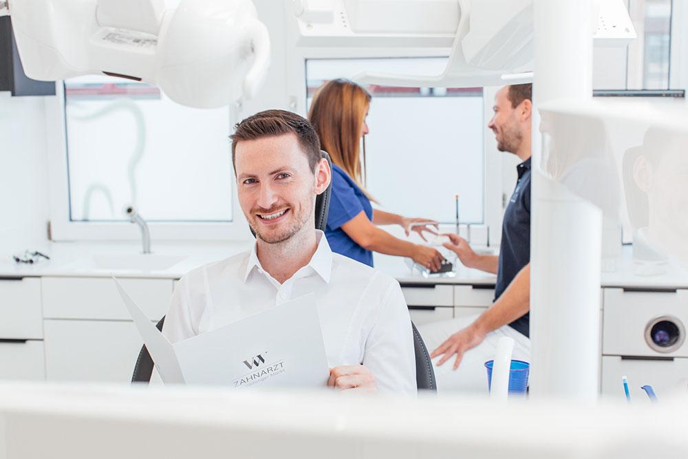Parodontologie Vaihingen - Zahnarzt Wenninger - engmaschige Betreuung